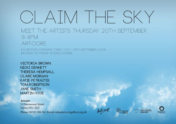 CLAIM THE SKY – Health and Wellbeing exhibition