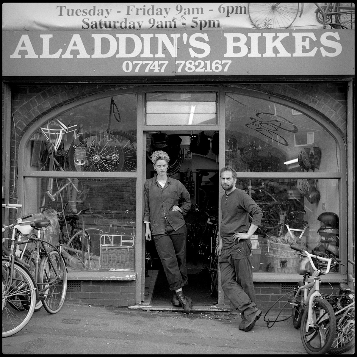 A Bike Shop, Nottingham