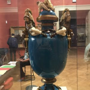 photo of promethean or captive vase minton victorian manchester art museum