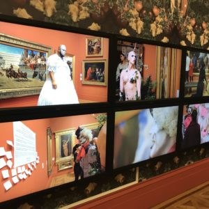 video and wallpaper sonia boyce at manchester art gallery