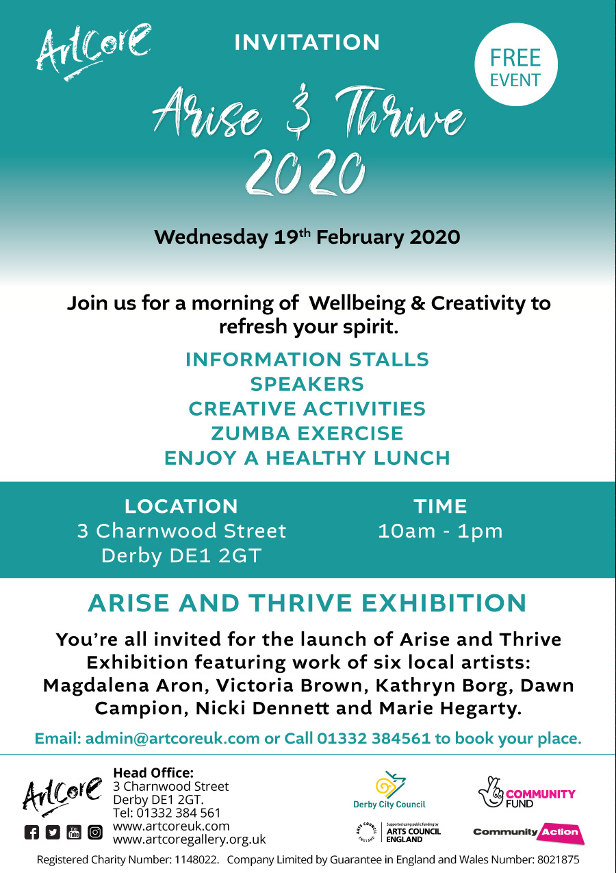 Arise and Thrive Exhibition 2020