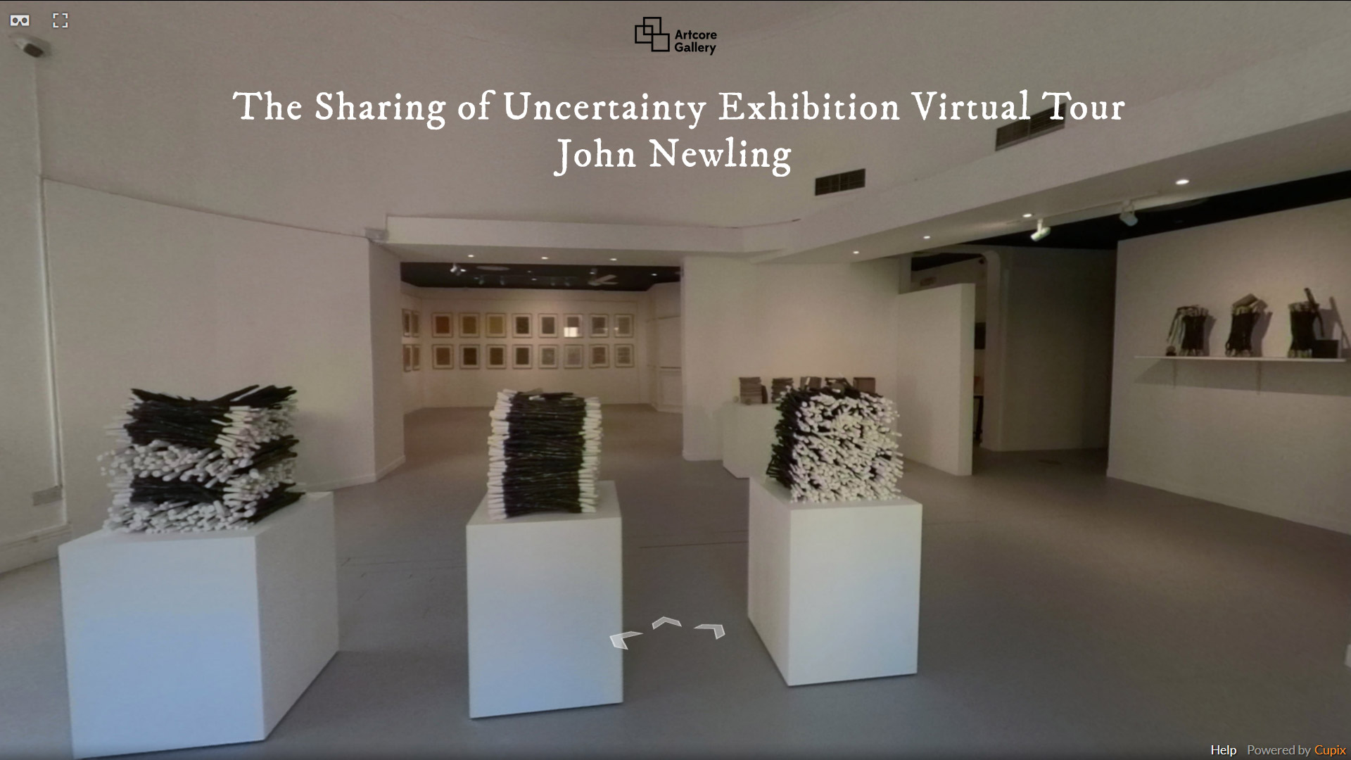 John Newling – The Sharing of Uncertainty Exhibition 3D Virtual Tour