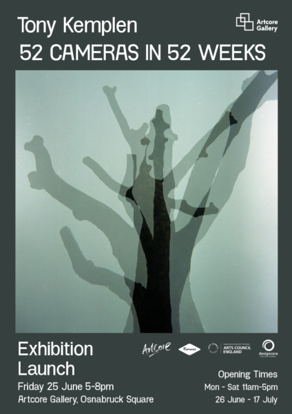 Exhibition: 52 Cameras in 52 Weeks by Tony Kemplen