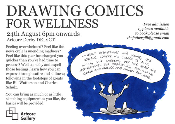 Drawing Comics for Wellness - with henry Fothergill